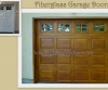 Garage Doors - Faux Woodgrain