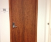 AFTER Faux Woodgrain Interior Steel Doors NYC Office