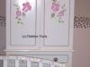 armoire, handpainted
