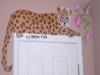 cheetah mural