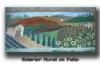 Exterior patio mural, Tuscany,  Long Island