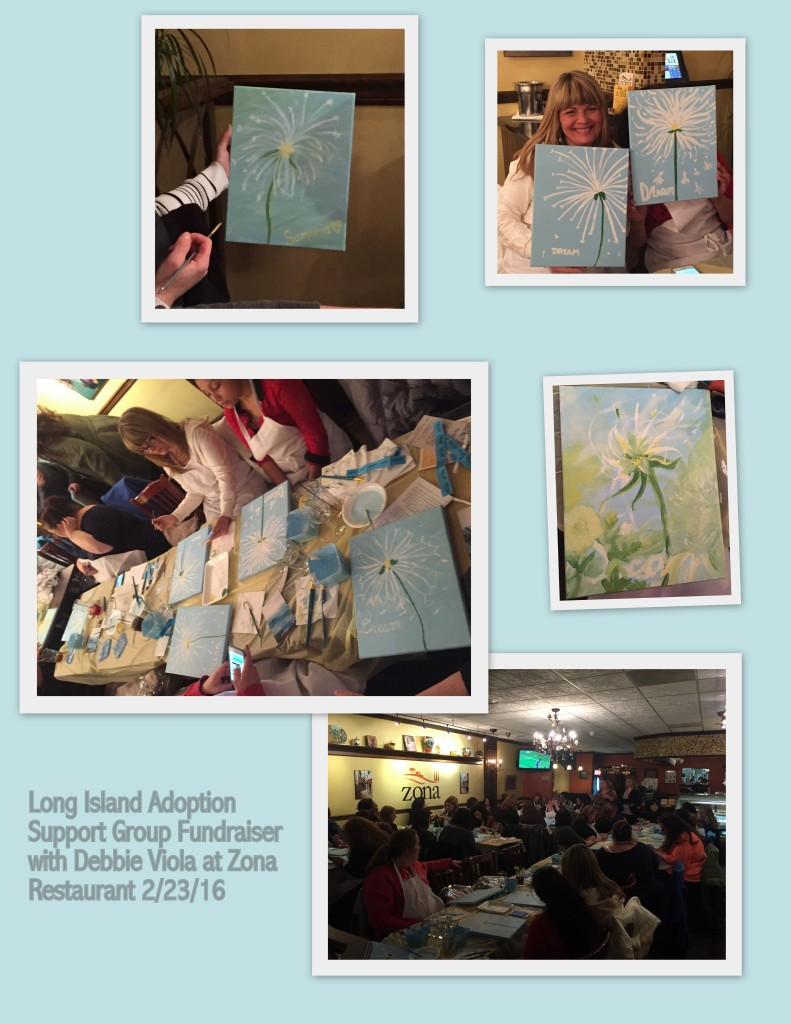 sip, dine & paint party
